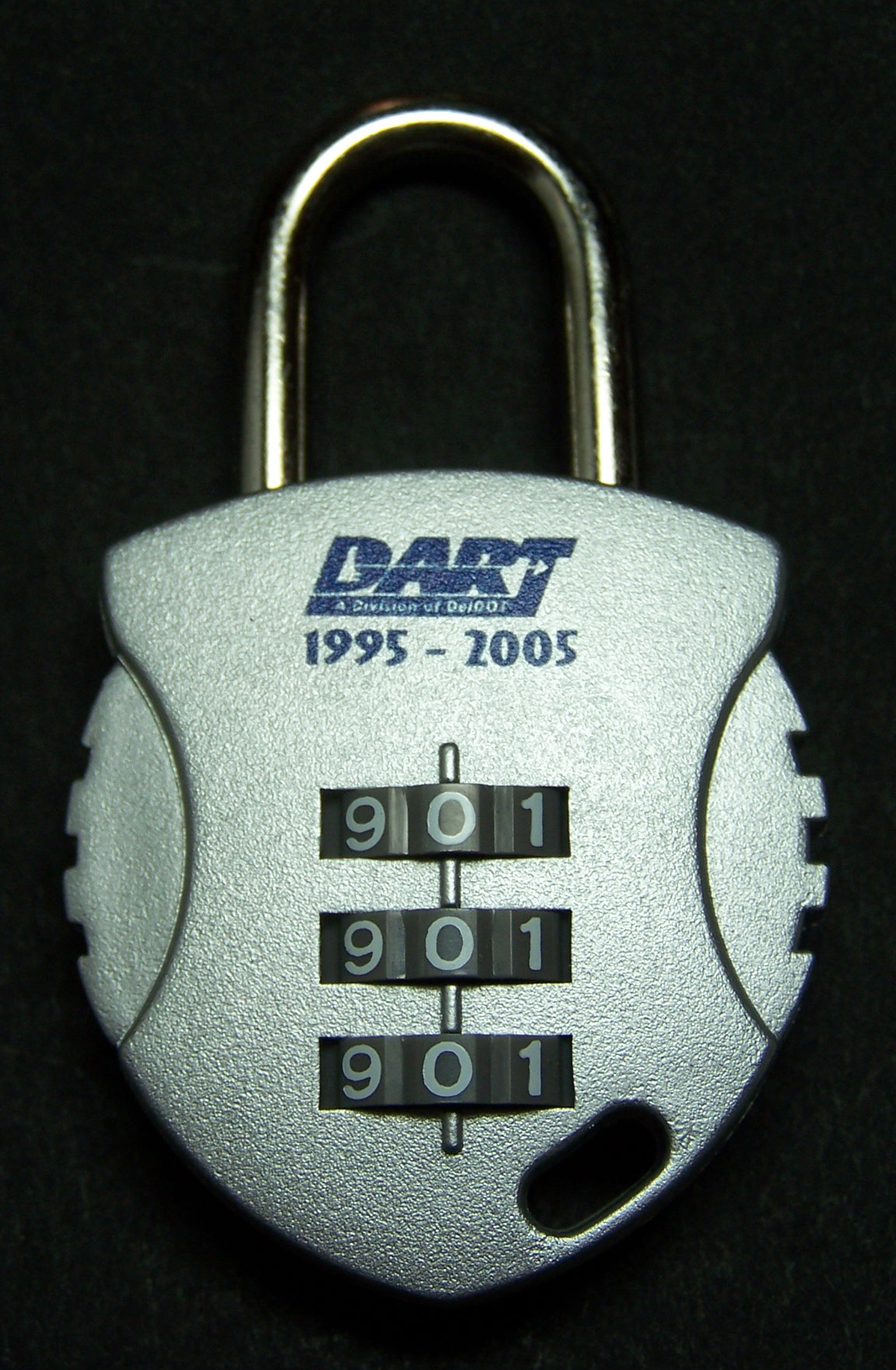 DART 10th Anniversary Combination Lock